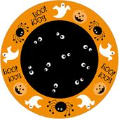 Papperstallrik Halloween Ghosts 22cm 10-p Duni
