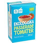 Passerade Tomater Ekologiska 390g Garant