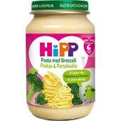 Pasta med Broccoli 6M Ekologisk 190g Hipp