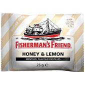 Pastiller Honey/Lemon 25g Fisherman's