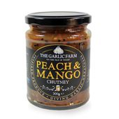 Peach & Mango Chutney 300g the Garlic Farm