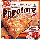 Pizza Skinka&Svamp 300 g Vici