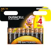 Plus Power AA 12+4 Duracell