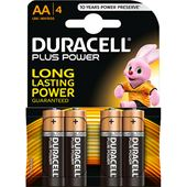 Plus Power AA 4-p Duracell