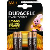 Plus Power AAA 4-p Duracell