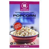Popcorn Eko 3x85g Urtekram