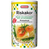 Riskakor Ost/Gräslök 125g Friggs