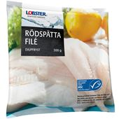 Rödspättafile MSC-märkt Fryst 300g Lobster