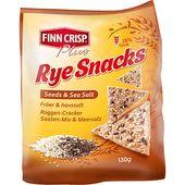 Rye Snacks Fröer/Havssalt 130g Finn Crisp