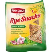 Rye Snacks Garlic&Herbs 130g Finn Crisp