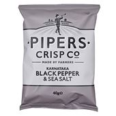 Salt and Black Pepper 40g Pipers Crisps