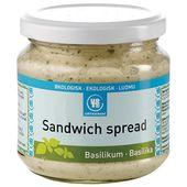Sandwich Spread Basilika Ekologisk 180g Urtekram