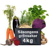 Säsongens Grönsakskasse 4kg Klass1