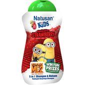 Shamp&Balsam Jordgubb 200ml Natusan Kids