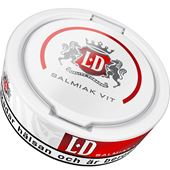 Snus 10-p Salmiak Vit Portion LD