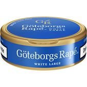 Snus White Portion 10-p Göteborgs Rapé