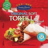 Soft Tortilla 12-p 480g Santa Maria