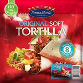 Soft Tortilla Original 320g Santa Maria