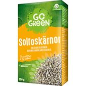Solroskärnor Naturella 350g Go Green