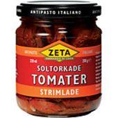 Soltorkade tomater strimlade 200g Zeta