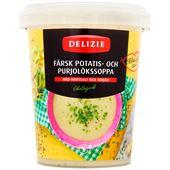 Soppa Potatis/Purjulök 450ml Delizie