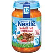 Spagetti Köttfärssås 12mån 195g Nestlé