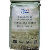 Strösocker Ekologiskt 1kg Dansukker