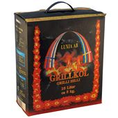 Grillkol 3kg Luxia