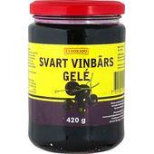 Svart Vinbärsgele 420g glasburk Eldorado