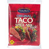 Taco Spice Mix 3-pack Santa Maria
