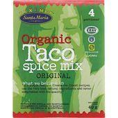 Taco Spice Mix Ekologisk 40g Santa Maria