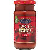 Tacosås Hot 230g Santa Maria