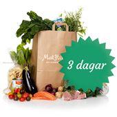 Tastelines Ekologiska 3-dagarskasse