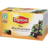 Te Blackcurrant 20-p Lipton