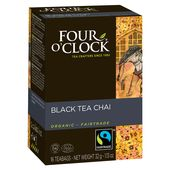 Te Svart Chai EKO Fairtrade 16-p Four O'clock