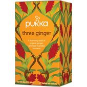 Te Three Ginger EKO 20-p Pukka