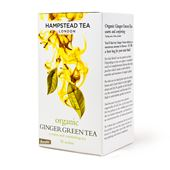 Tea Ginger Green EKO 25-p Hampstead Tea London