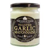 Toasted Garlic Mayonnaise 245g the Garlic Farm