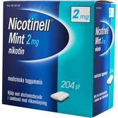 Tuggummi Mint 2Mg 204-p Nicotinell Läkemedel