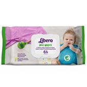 Tvättservetter parfymfria 64-p Libero