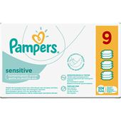 Tvättservetter Sensitive Wipes 9x56-p Månadsbox Pampers