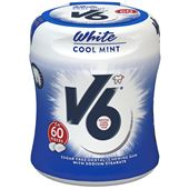 V6 White Cool Mint 60-p