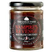 Vampires Revenge Hot Plum Chutney 285g The Garlic Farm