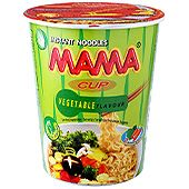 Nudlar Veg 70g Mama Cup