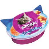 Whiskas Temptation kattgodis med lax 60g