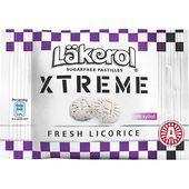 Xtreme Fresh Licorice 25g Läkerol