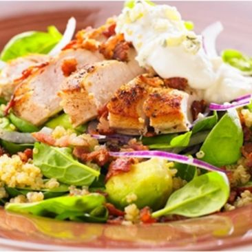 quinoa recept kyckling