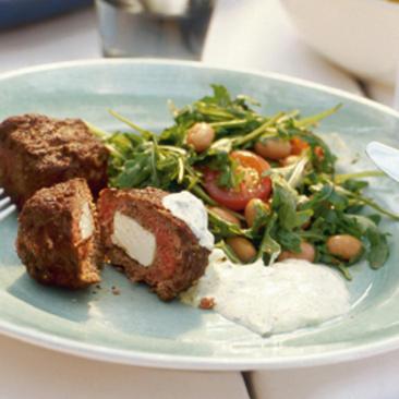 grekiska biffar recept