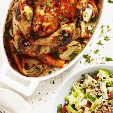 recept med grillad kyckling