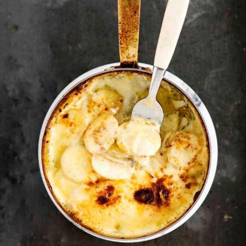 frysa färdig potatisgratäng